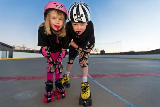 Roller derby junior